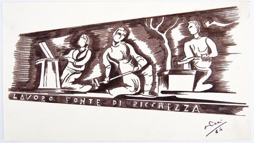 La mostra di Giuseppe Paci: il Presidente TSN con il talento per la pittura