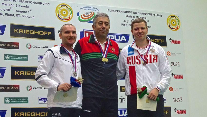 Bruno conquista la quinta carta olimpica ai Campionati Europei a fuoco di Maribor