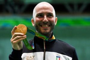 Giochi Olimpici Rio: Campriani, orgoglio italiano!