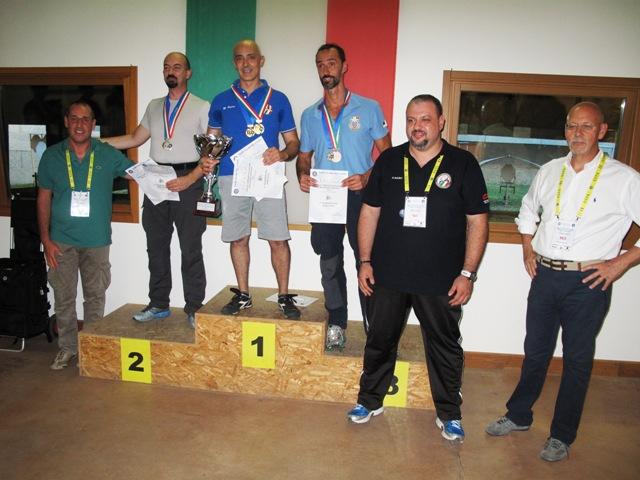 A Verona la finale di Tiro Rapido sportivo