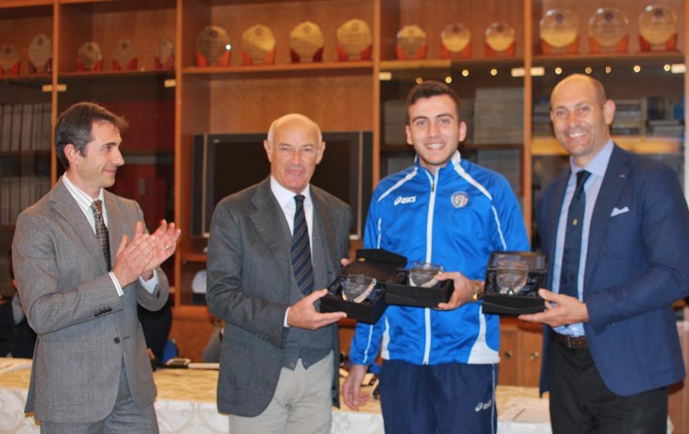 Premiati gli atleti campani per la stagione agonistica 2014