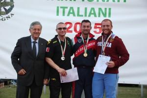 A Bologna i Campionati Seniores, uomini, donne e master 2015