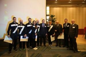 Cerimonia premiazione squadra olimpica Rio 2016