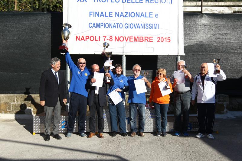 Il Veneto trionfa e vince l'edizione 2015 del Trofeo delle Regioni